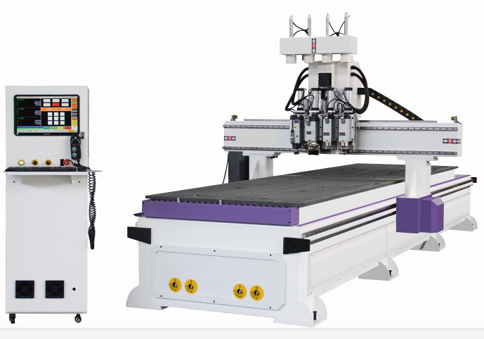 1325B 4 Processing CNC Woodworking Carving Router Machine